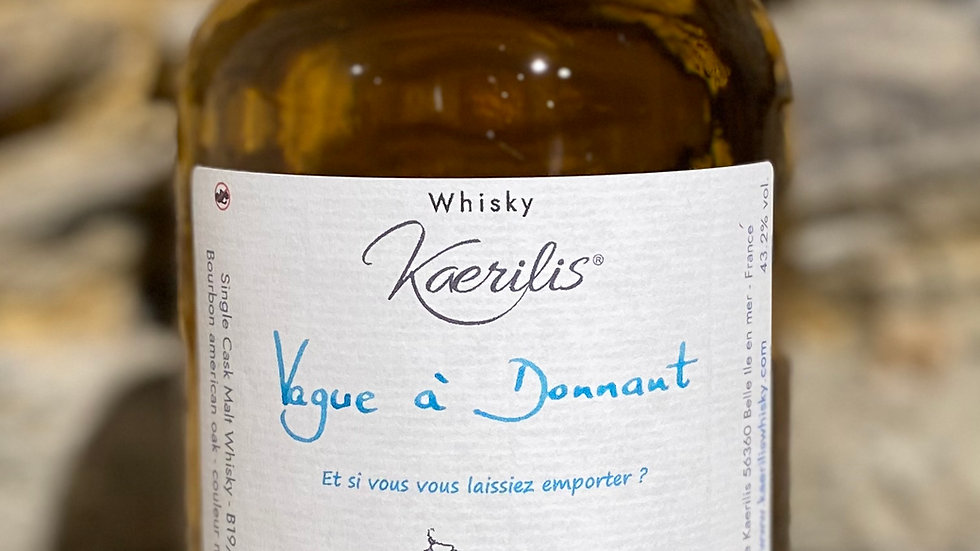 Whisky Vague à Donnant, 50 cl, 43.2% vol