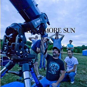 Telescope Baltimore Sun Garry Ingle Jr