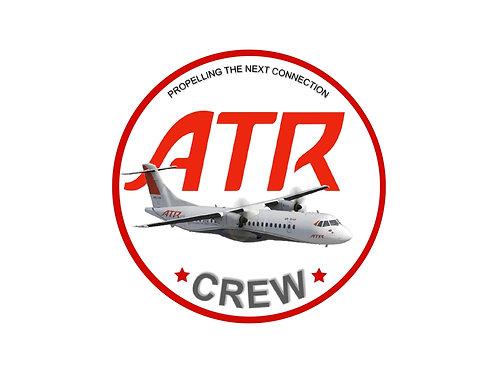 ATR CREW STICKER