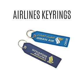 AIRLINE KEYRINGS