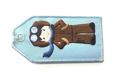 AVIATOR BOY BAGGAGE TAG