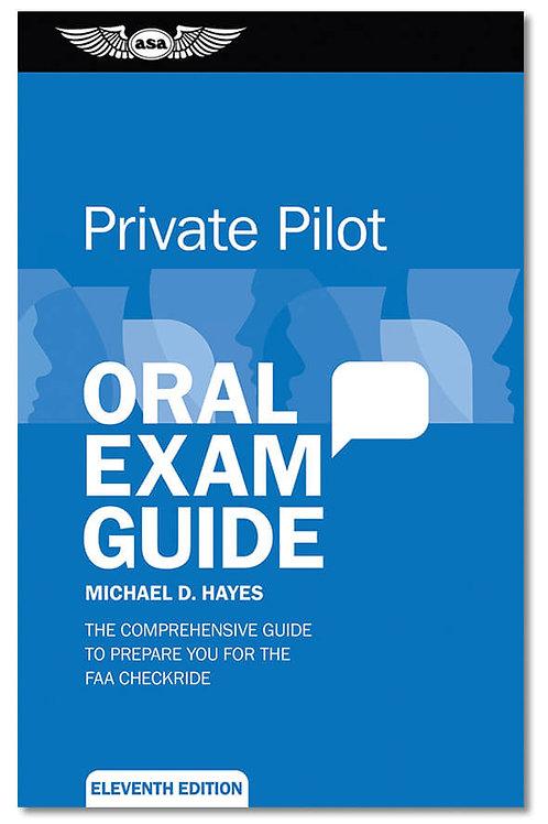 ORAL EXAM GUIDE PRIVATE PILOT