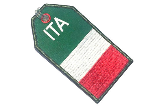 FLAG ITALY BAGTAG