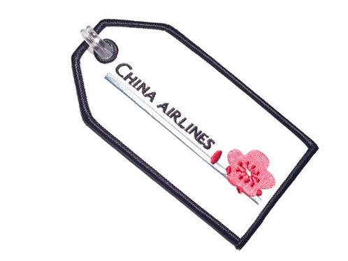 CHINA AIRLINES BAGGAGE TAG