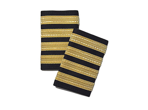 EPAULETS 4 STRIPES / SOFT / GOLD