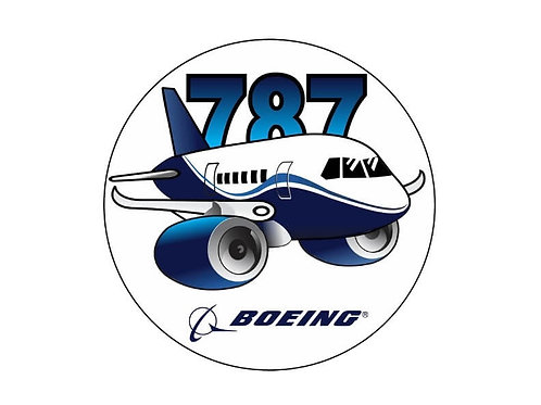 BOEING 787 STICKER