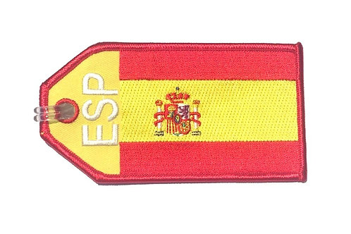 BAGTAG SPAIN FLAG