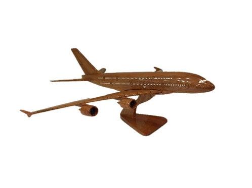 WOODEN MODEL AIRBUS A380 (big)