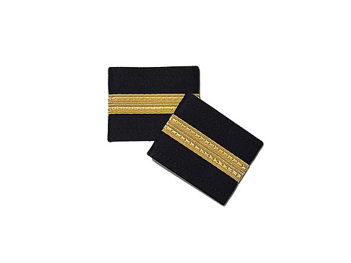 EPAULETS 1 STRIPE - GOLD - SOFT
