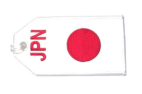 BAGTAG JAPAN FLAG