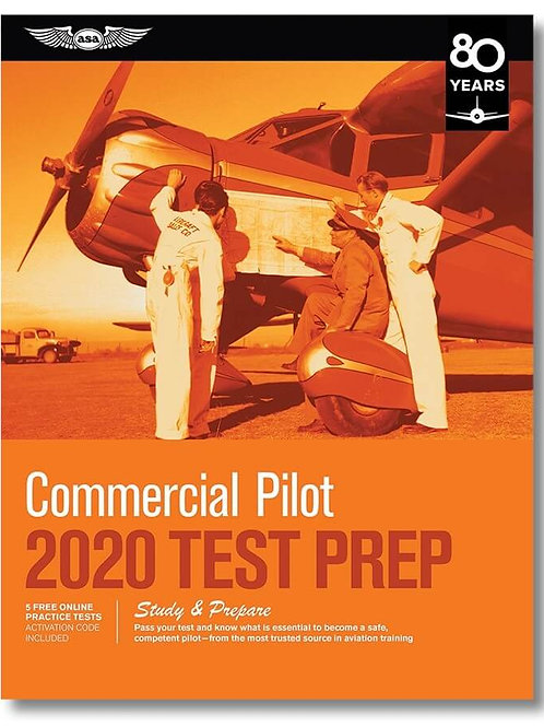 TEST PREP COMMERCIAL PILOT