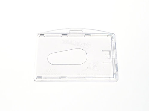 PLASTIC 2 CARDS HORIZONTAL