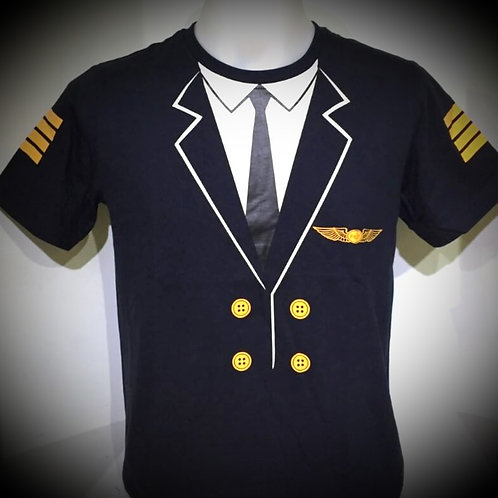 PILOT UNIFORM TEE SHIRT