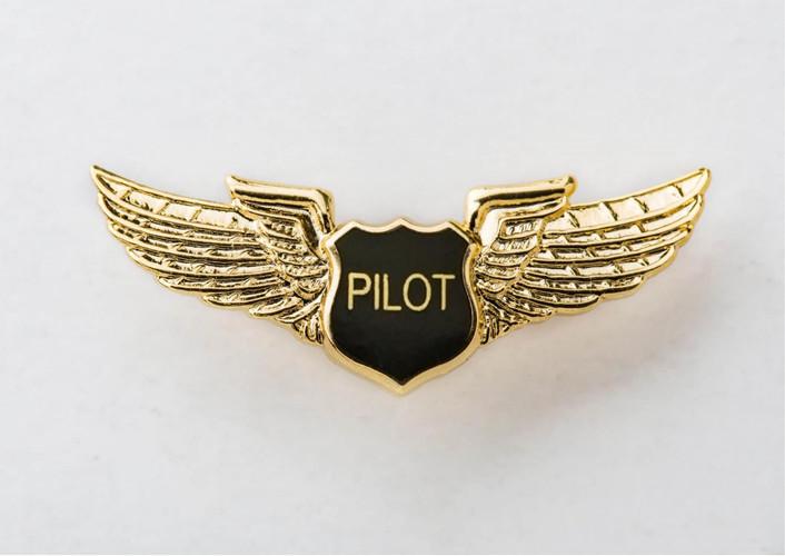 Pilot Wings Lapel Pin