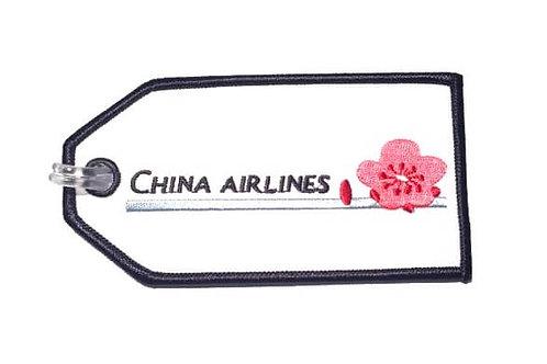 CHINA AIRLINES BAGGAGE TAG