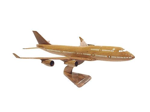 BOEING 747 WOODEN MODEL / BIG