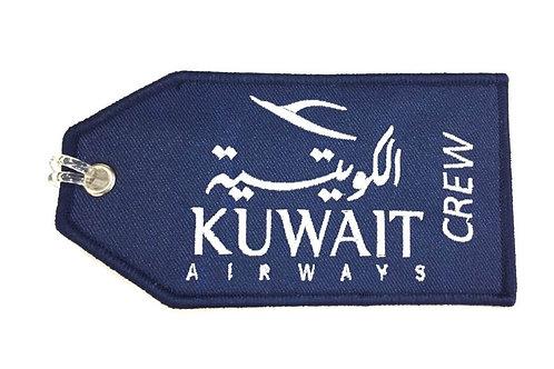 KUWAIT AIRWAYS CREW BAGTAG