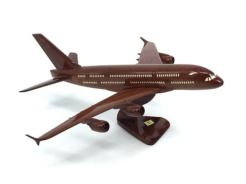 A380 WOODEN MODEL (SMALL)