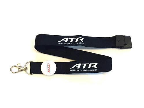 ATR LANYARD (thick) - BLACK