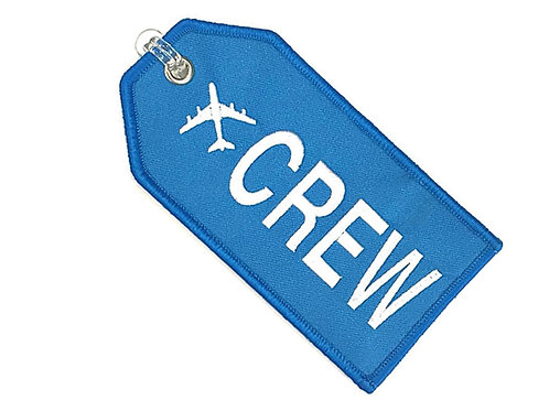 CREW BAGTAG - BLUE