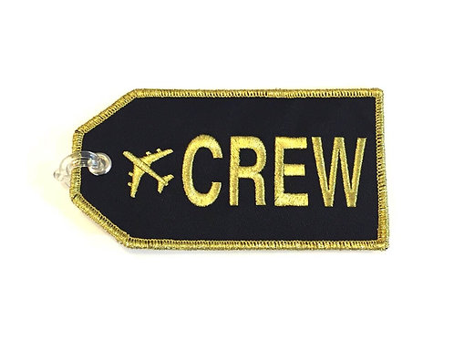CREW BAGTAG - GOLD