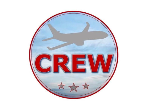 CREW (RED) STICKER