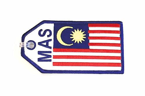 BAGTAG MALAYSIA FLAG