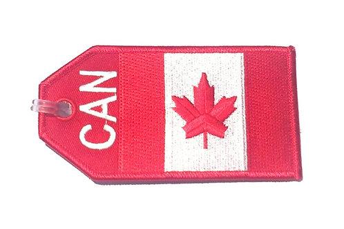 BAGTAG CANADA FLAG
