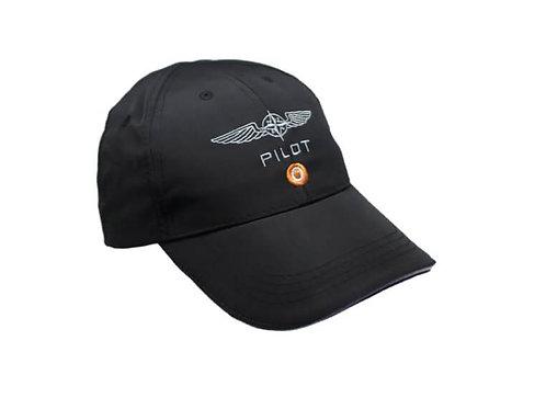 D4P PILOT CAP -BLACK