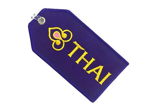 THAI AIRWAYS BAGGAGE TAG