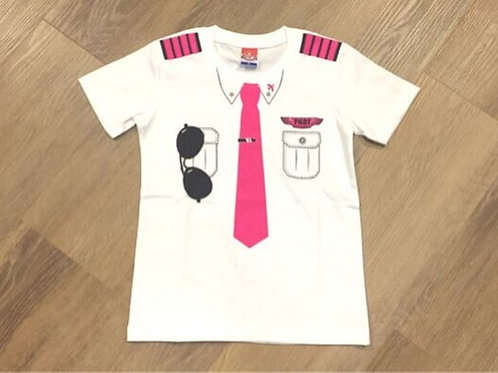LITTLE PILOT UNIFORM PINK