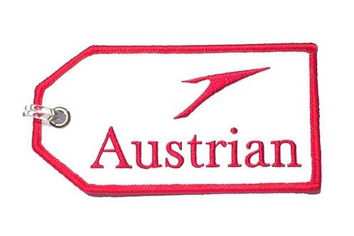 AUSTRIAN BAGGAGE TAG