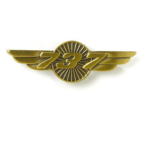 PIN WINGS BOEING B737