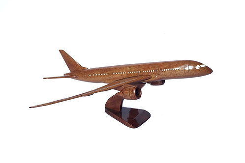 BOEING 787 WOODEN MODEL / BIG