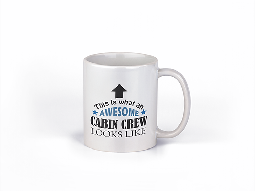 MUG AWESOME CABIN CREW