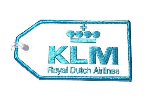 KLM BAGGAGE TAG