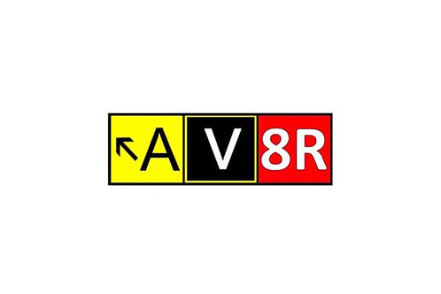 AV8R AVIATOR STICKER