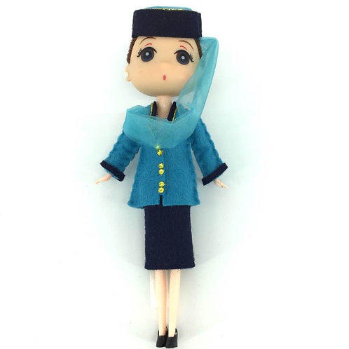 OMANAIR DOLL with STAND