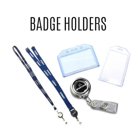 Crew Badge Holders