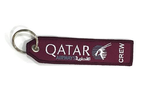 """KEYRING QATAR AIRWAYS """"crew"""""""