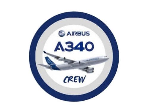 AIRBUS A340 STICKER