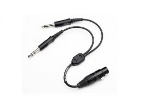 HEADSET ADAPTER / XLR 5pins to G.A. twin