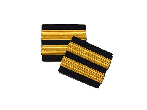 EPAULETS 2 STRIPES / HARD / GOLD