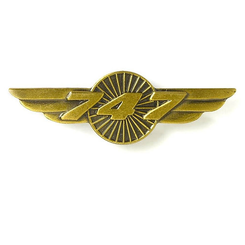 PIN B747 WINGS