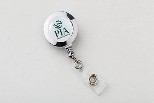 CLIP-ON BADGE P.I.A.
