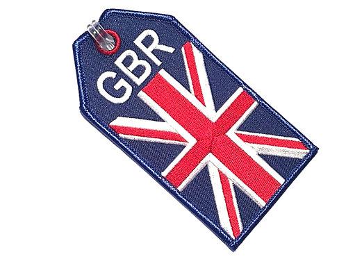 BAGTAG UK FLAG