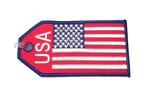 FLAG USA BAGTAG