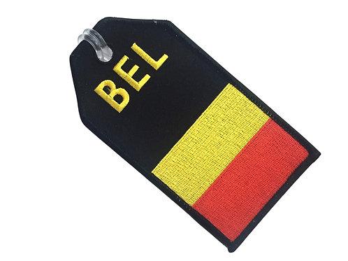 FLAG BELGIUM BAGTAG