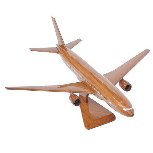 BOEING 777 WOODEN MODEL / SMALL