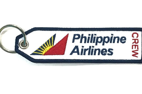 """KEYRING PHILIPPINE AIRLINES """"crew"""""""